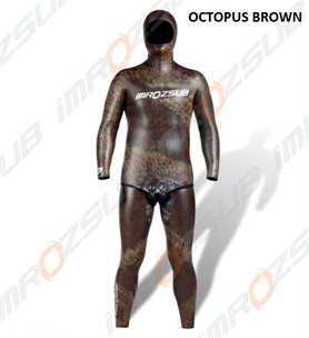 İmrozsub Daiwabo Smooth Elbise 5,5 mm Octopus Brown Camu